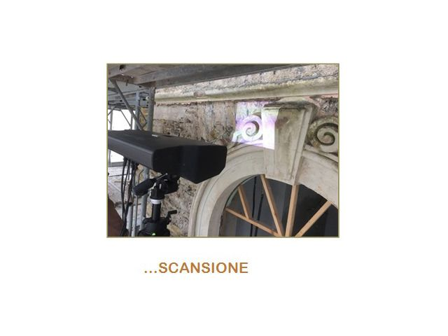 Scansione 3D di decoro